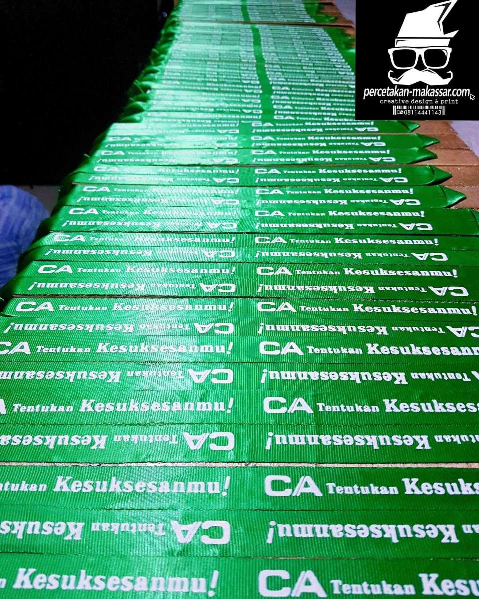Jasa Cetak Dan Pembuatan Lanyard ID Card Murah Di Makassar