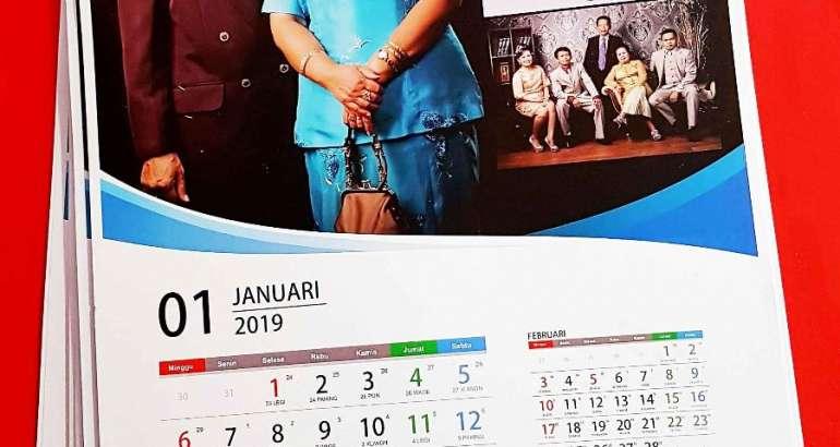 Cara Desain Kalender Dinding yang Baik dan Profesional